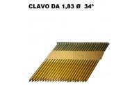 Clavos-Clavadoras DA 1,8 34º
