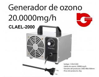 CLAEL-2000 GENERADOR DE OZONO CLAEL-2000