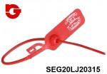 SEG20LJ20315 PRECINTO SEGURIDAD NUMERADA LJ-20 315 CILINDRICO 2X315 mm.