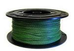 SEG20RB Alambre metálico de hierro gris, recubierto de PVC verde  (ROTOLESS)