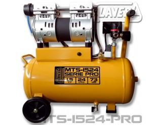 COM-MTS1524PRO COMPRESOR SILENCIOSO 1,5 CV  24 LTS. MTS-1524 PRO