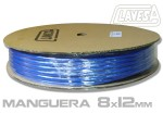 CLATW0812A MANGUERA 8×12mm DE 100M. AZUL